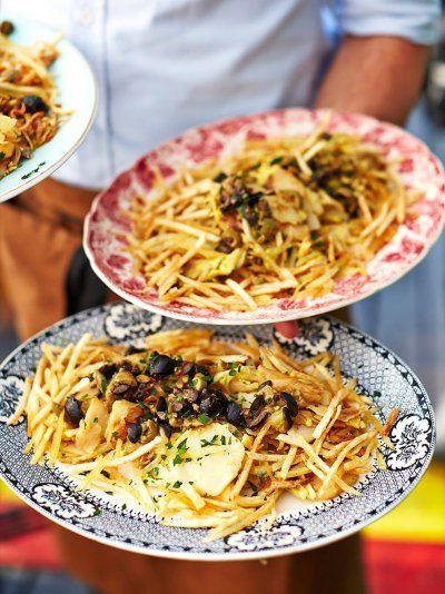 Bacalhau à Brás | Friday Night Feasts | Jamie Oliver