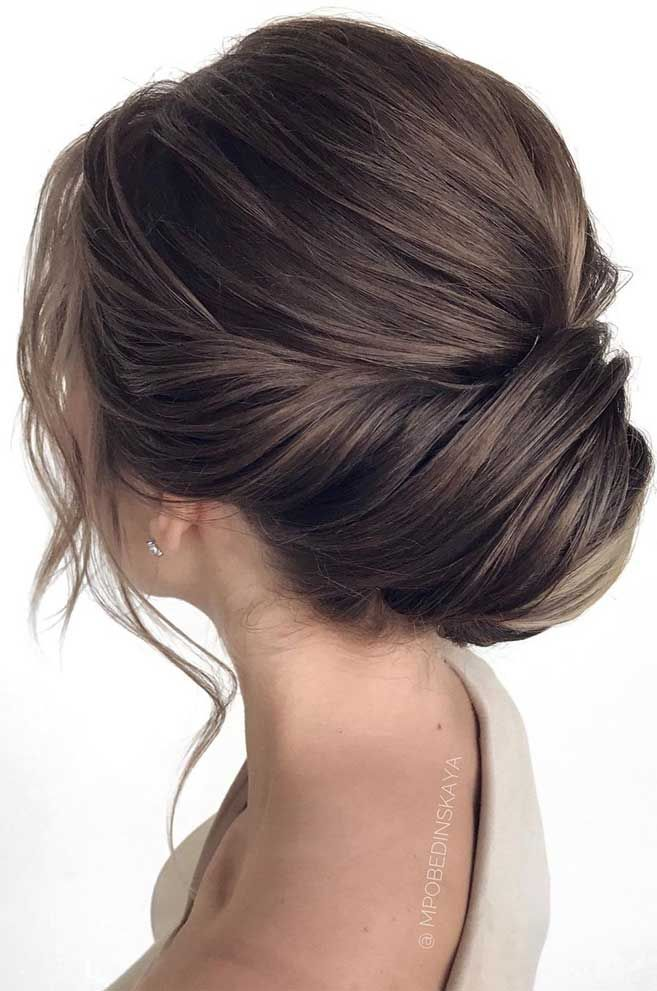 75 romantic bridal hairstyles, hairstyles for weddings long hair, wedding updos with braids, wedding updos, bridal updos , messy updo hairstyles ,hairstyle #hairstyle #weddinghair #updo #upstyle elegant bridal hairstyle , wedding hairstyle, bridal hairstyles , wedding hairstyle for medium hair length