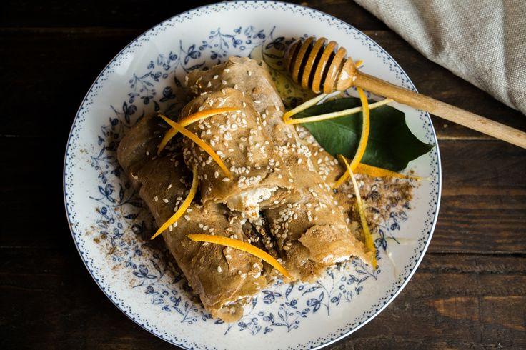 Γλυκιά και ανάλαφρη αυτή η τυρόπιτα χάρη στο χωριάτικο φύλλο ολικής άλεσης.