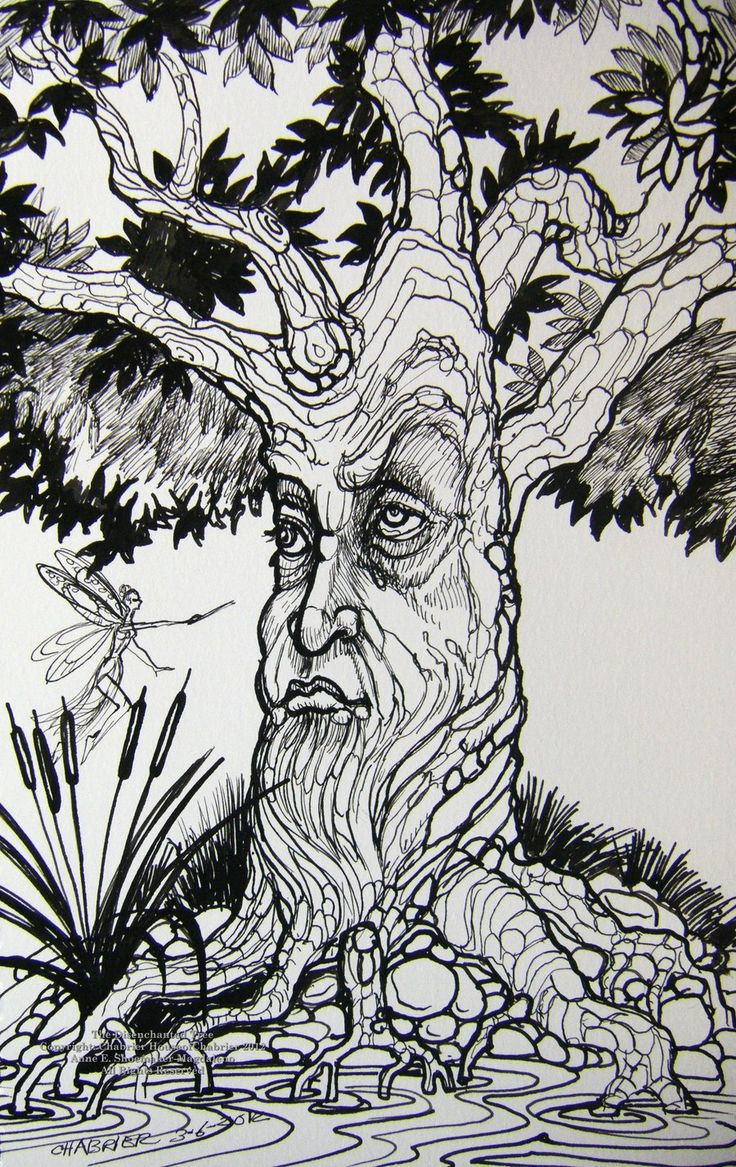 The Disenchanted Tree by on