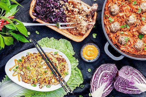 Vychutnejte si jídla plná sezonní zeleniny (a možná kousku masa...)