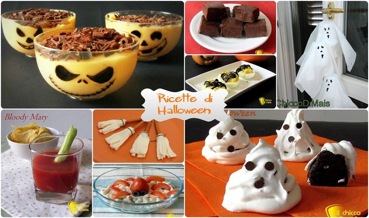 #Ricette di #Halloween #dolci e salate il #chiccodimais easy #halloween #recipes http://blog.giallozafferano.it/ilchiccodimais/ricette-di-halloween-dolci-salate/
