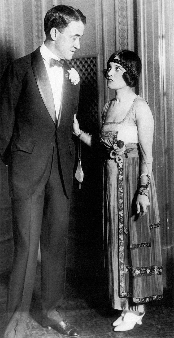 John Emerson and Anita Loos at a ball, 1919.