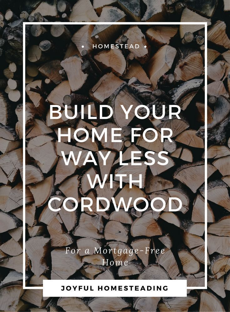 Cordwood cabin may be just the ticket for a low-cost way to build your home.  Learn why cordwood construction is valuable for the self reliant.