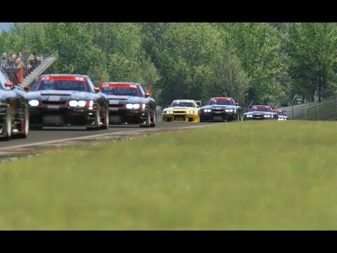 Racing Nissan R33 GT1 LMS  at Mugello