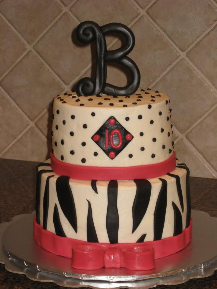 Taya's Birthday CakeCreative Cake, Birthday Fun, Birthday Parties, Shannon Creative, Parties Ideas, Decor Cake, Zebras Prints Birthday, Birthday Cake, Birthday Ideas