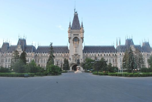 The Palace of Culture in Iasi, Romania