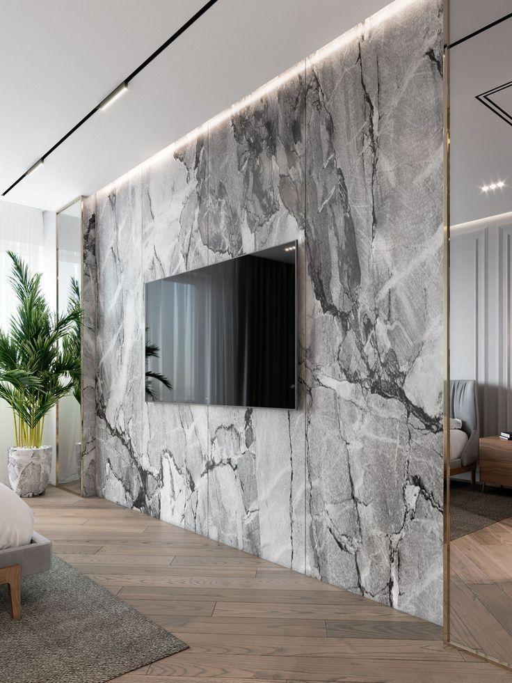 #ikeachairdiybedrooms The 9 Essentials For Apartment Interior Design – TV Walls