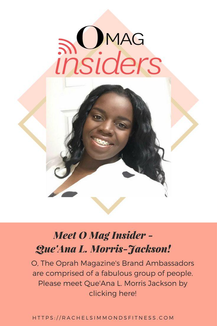 Meet O Mag Insider, mom, wellness practitioner, and entrepreneur - Que'Ana L. Morris-Jackson!