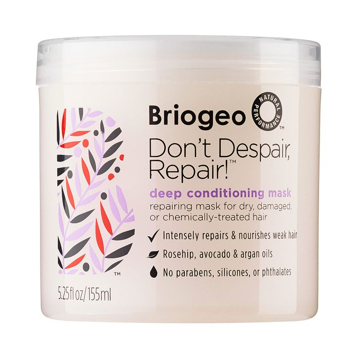 My dry, frizzy, chemically treated hair has never been healthier. It nourishes and smooths without weighing my hair down. And it smells great! I can't wait to try other Briogeo products. -Lauren H., Marketing Manager