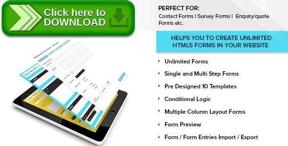 [ThemeForest]Free nulled download Ultimate Form Builder from http://zippyfile.download/f.php?id=56230 Tags: ecommerce, contact form, contact forms, enquiry forms, form, form builder, form templates, forms, html form builder, multistep, multistep form builder, Survey Form Builder, survey forms, ultimate form builder
