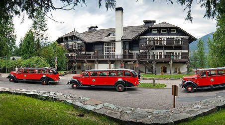 Lake McDonald Lodge, Glacier National Park, Montana