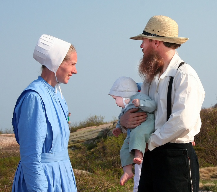 Just read a book about the Maine Amish. Living in harmony by Mary Ellis. Amish at Bar Harbor Maine