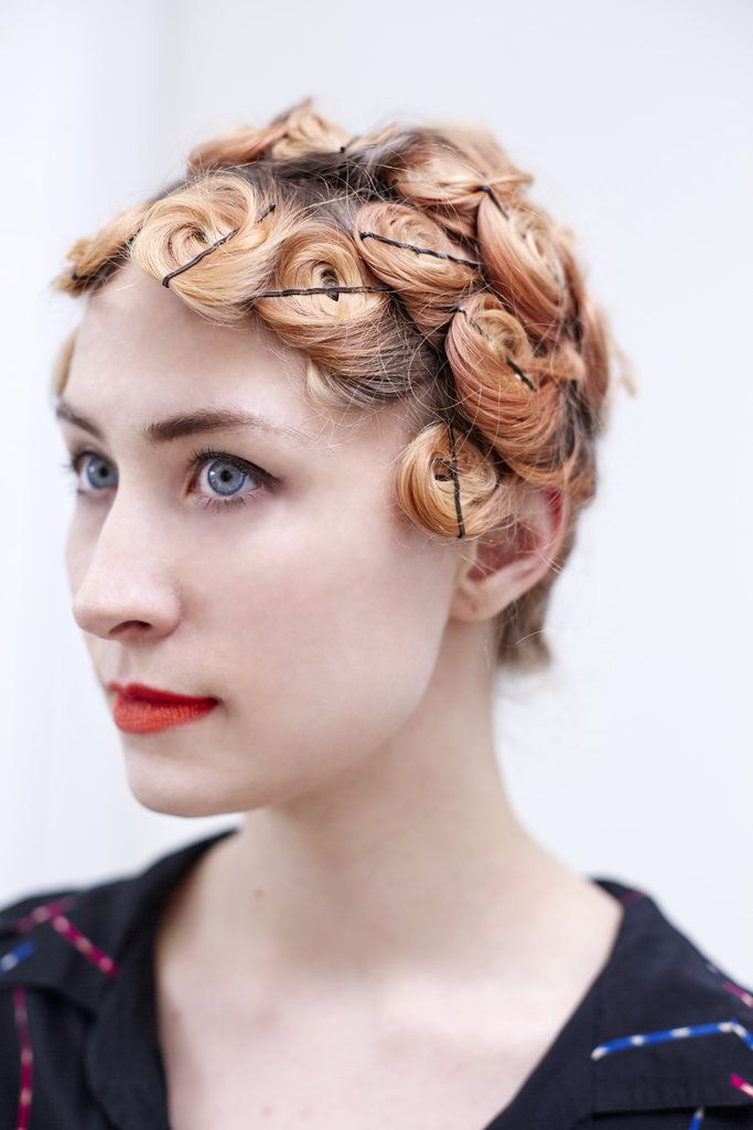 Outstanding 1000 Ideas About Pin Curls On Pinterest Victory Rolls Vintage Hairstyles For Women Draintrainus