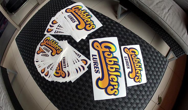 Gobblers Lures Stickers AU$12.95