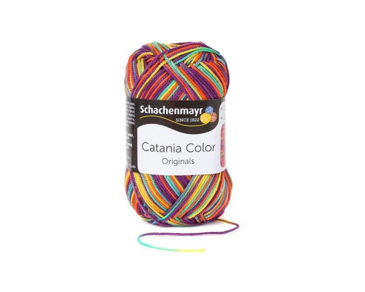 Catania Color Virág 00217 - 100 % pamut