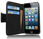 EUR 13,90 - IPhone 5 Leder Tasche Lederhülle Hülle Flip Case Schutzhülle Etui Wallet schwarz - http://www.wowdestages.de/eur-1390-iphone-5-leder-tasche-lederhulle-hulle-flip-case-schutzhulle-etui-wallet-schwarz/