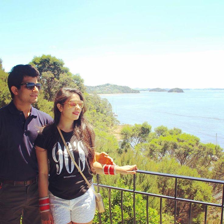 Bhagyalaxmi and Anand | Honeymoon in New Zealand and Singapore | Real Honeymoon | WeddingSutra.com