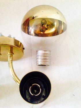 zwei staff doppel wandleuchte gold design motoko ishii in berlin prenzlauer berg lampen. Black Bedroom Furniture Sets. Home Design Ideas
