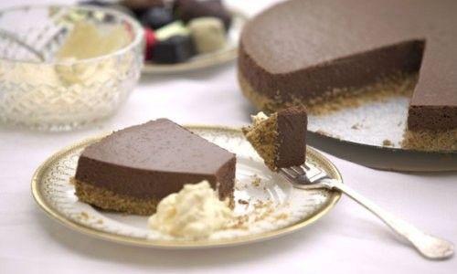 Tarta de queso y chocolate, ¡Espectacular!