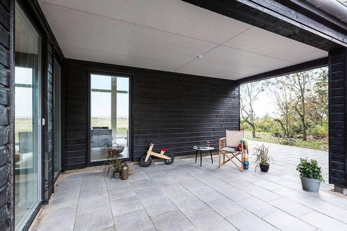 Terrasse couverte angle