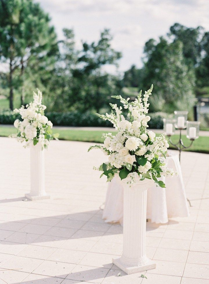 Florida Wedding Blushes With Blush Details Ceremony Ideas And Weddings