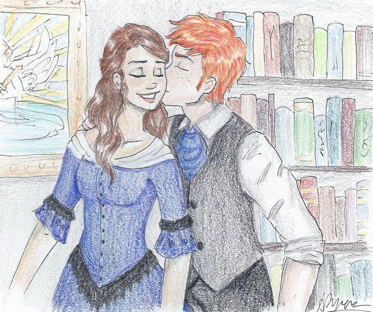 YAAYYYY!! I NEVER see Henry and Charlotte fanart