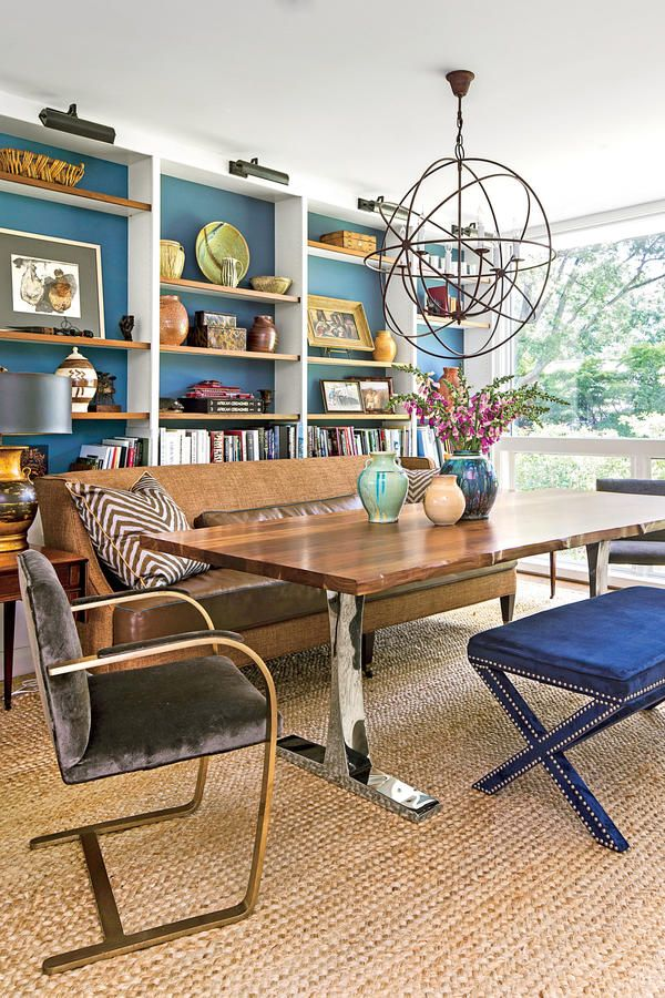 79 Stylish Dining Room Ideas: Casual Seating