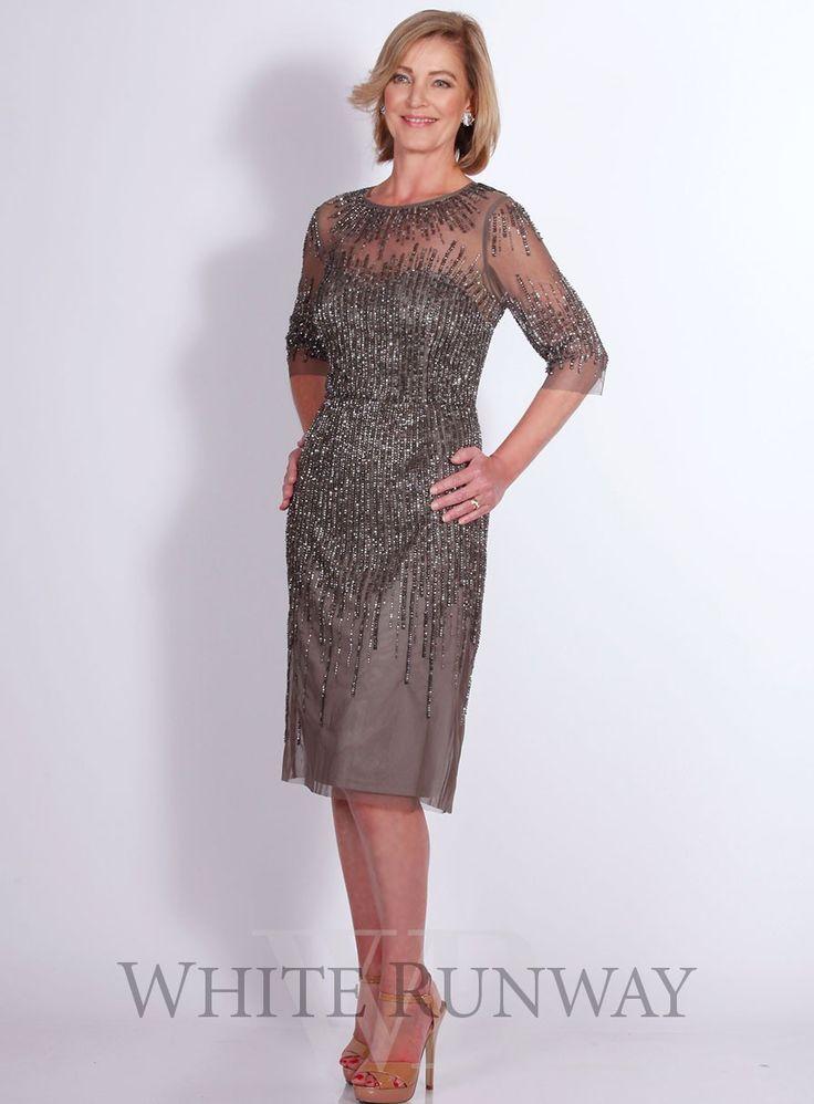 Anya Beaded Dress by Adriana Papell