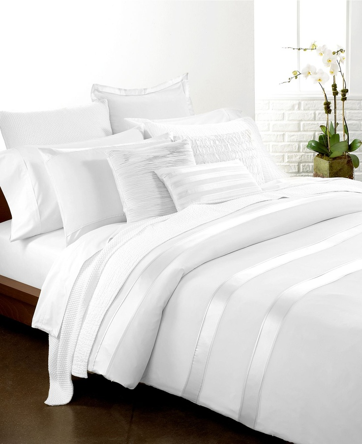 Donna Karan Bedding Essentials White Collection Bedding