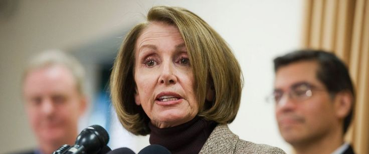 House Democratic Leader Nancy Pelosi said that President Trump will have no positive achievements to point to when he gives his first address to a joint session of Congress Tuesday night. He has nothing to show for it but fear in every way Pelosi told ABC News chief anchor George Stephanopoulos  (via Pelosi: President Trump has nothing to show for 1st month in office except 'fear - ABC News)