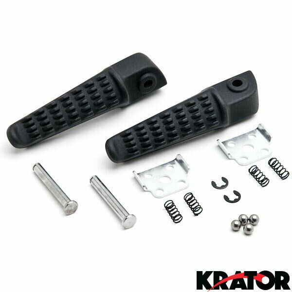 Rear Motocycle Footrest Foot Pegs Fits Yamaha YZF-R1 2002-2012 03 04 05 06 Black