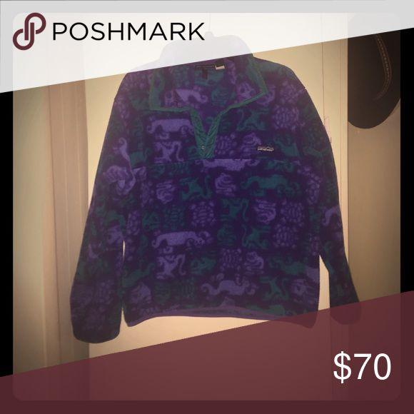 Clothing Patagonia fleece jacket - vintage pattern Patagonia Jackets & Coats
