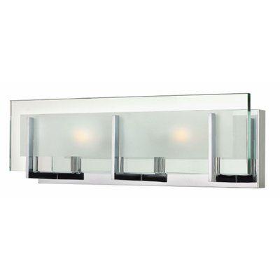 Web Image Gallery Hinkley Lighting Latitude Light Bath Vanity Light Bulb Type W LED Finish