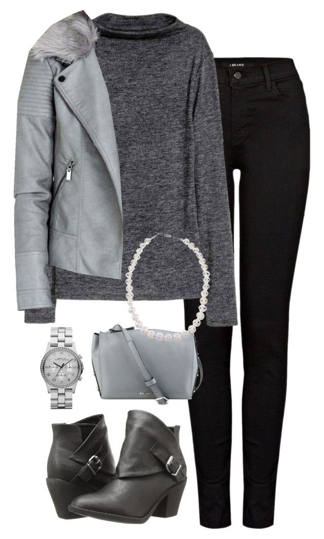 """Office Casual #131"" by amooshadow on Polyvore featuring J Brand, Nine West, Blowfish, Marc by Marc Jacobs and 131"