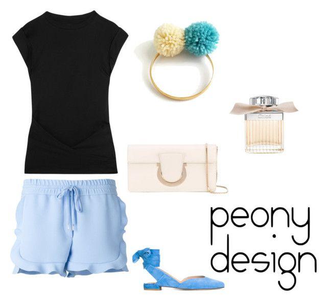 Peony Design by teri-peony on Polyvore featuring Isabel Marant, Carven, Stuart Weitzman, Salvatore Ferragamo and Chloé