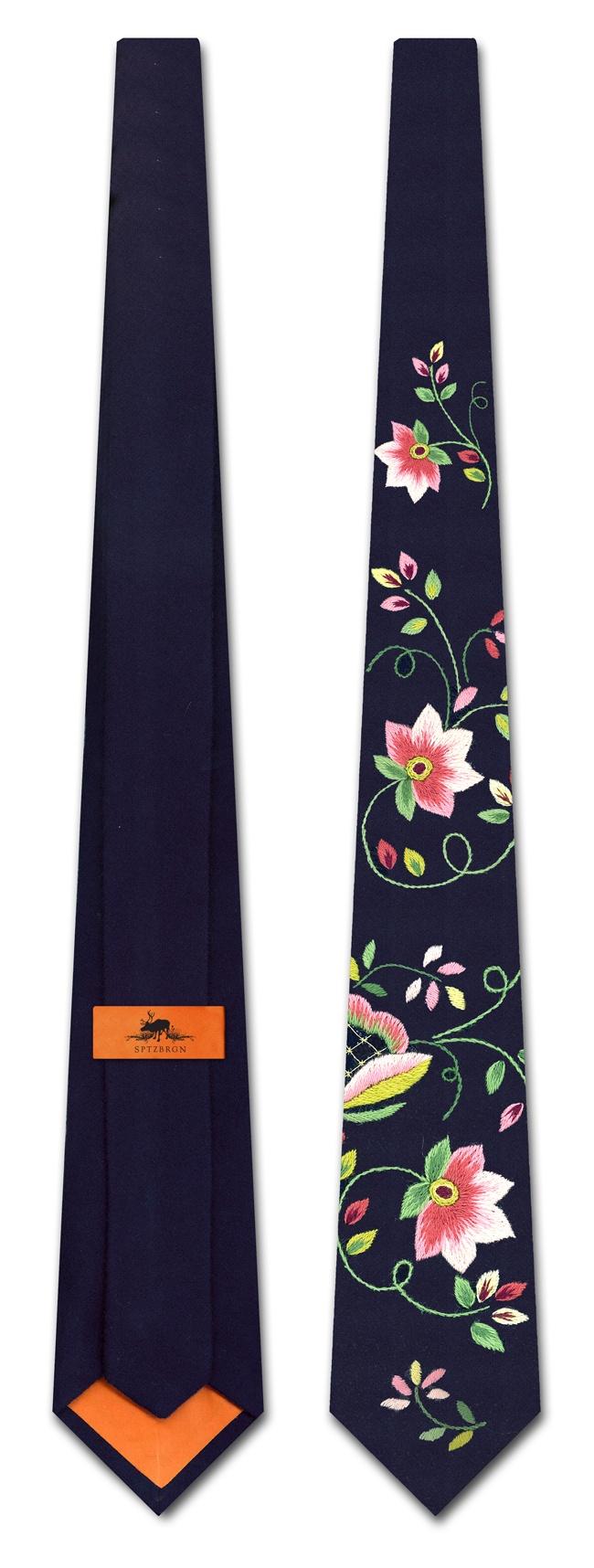 lundeby bunad slips - Norwegian folk costume tie - @Joshua Osborne