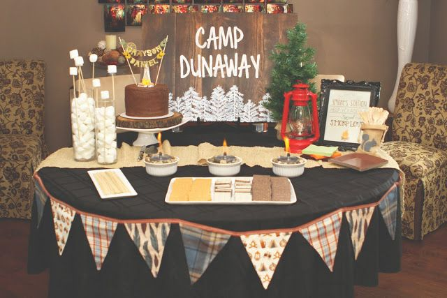 Camp Dunaway | Camping Theme Baby Shower