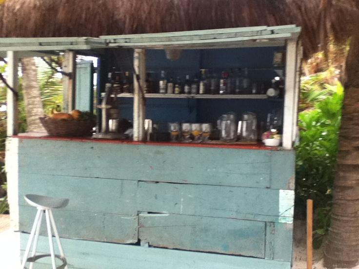 Be Tulum beach bar
