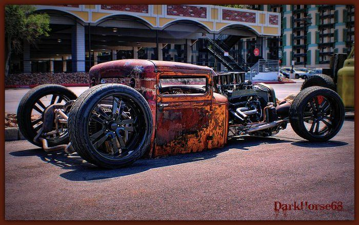 rat rods pics | When Rust Is Cool: 30 Insane Rat Rod Photos | Car Accessories Blog