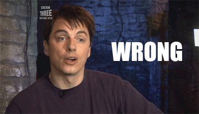 John Barrowman wrong