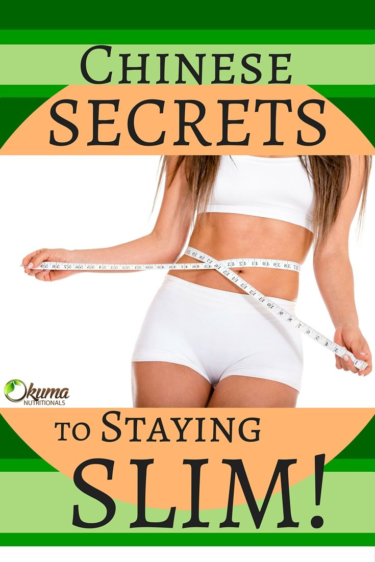 Ever wonder why the Chinese stay so slim and look ageless? Find out their secrets here! OkumaNutritionals.com