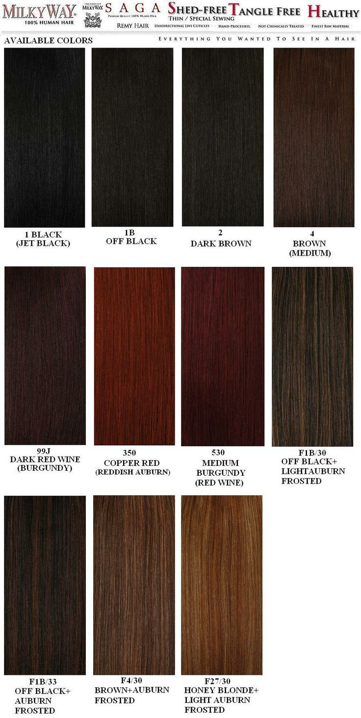 Weave Hair Color Chart Sovinsl Weave Kanekalon Hair