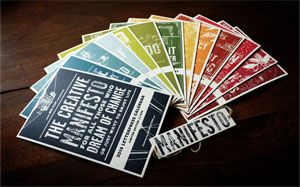 The Creative Manifesto, by Fabien Barral... it´s just awesome!!!