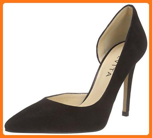 Evita Shoes Damen Pump Pumps, Schwarz (Schwarz 10), 41 EU (*Partner Link)