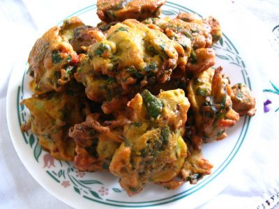Mixed Veg Pakoda Makes a perfect evening snack or a rainy day snack.
