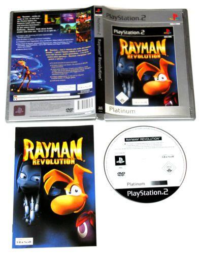 Rayman Revolution für Playstation 2,in OVP