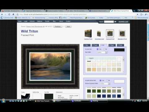 Get your Fineartamerica site at http://artistwebsites.com/?affiliateid=A26280  Here are 5 ways you can make money online with your art or photography.  Selling your art on the internet is a great way to keep your budgets low and get yourself noticed.     Look at this scenario. I want to sell a piece of art for $500 so I take it to an art gallery...