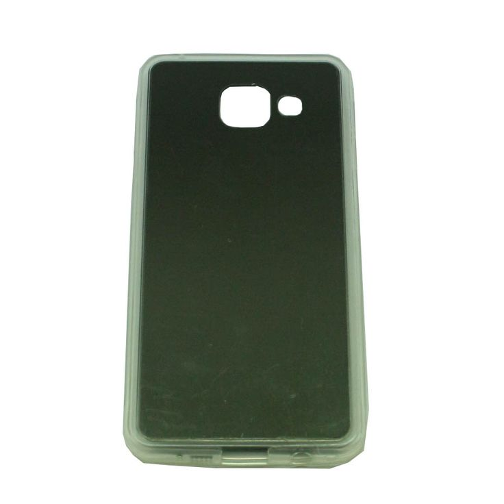 ΘΗΚΗ SAMSUNG GALAXY A3 2016 A310 TPU MIRROR BACK CASE ΜΑΥΡΟ