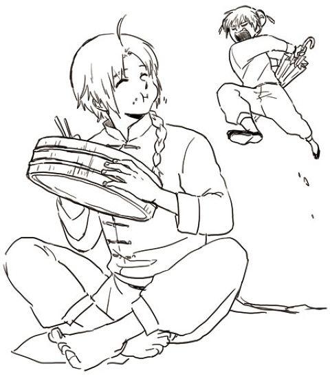 「沖神とか夜兎兄妹とか」/「ちよ」の漫画 [pixiv]